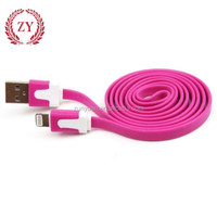 2015 new colorful mobile phone usb cable for I5