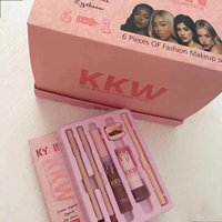 2017 new kylie kkw 6 in 1 makeup sets with good price and high quality lipgloss matte