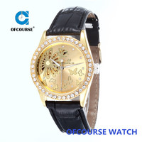 2015 wholesale new dress luxury fashion diamond automatic watches for women gift