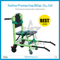 PWS-5T2 hot sale ambulance stair chair stretcher with wheels