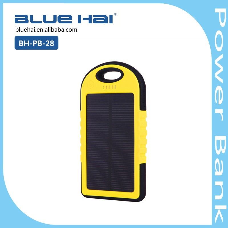 2016 Mini 4000mah Portable Power Supply USB Power Bank for Cell Phone Solar Power Bank Charger 2016