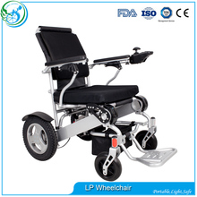 Foldable electric wheel chair lightweight power wheelchair for handicapped