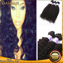 NEW ARRIVALS Big Sales !!! Indian Virgin Hair Bundles & human hair weft Natural 1B per Lot DHL fast shipping in stock
