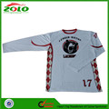 Cheap Price Custom Made Dye Sublimation Long Sleeve Lacrosse Shooting Shirts