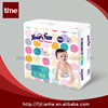 Disposable breathable and clothlike sleepy baby diapers
