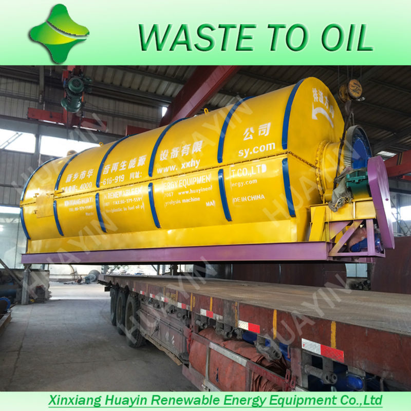 No Fire safety devices waste black engine oil recycling plant With CESGSISOBV