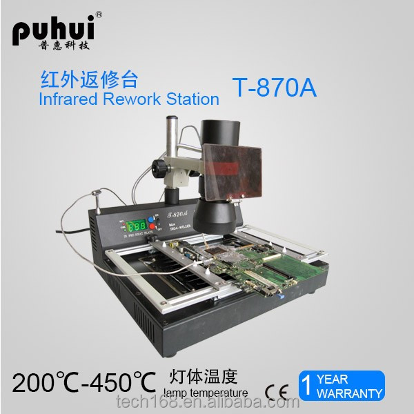 T-870A bga rework station/ cell phone motherboard bga repair machine/tool/bga reballing kit
