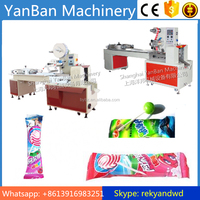 YB-800 Automatic Pillow Type Ball Lollipop Packing Machine/lollipop wrapping machine