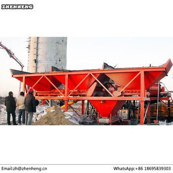 Aggregate batching machine PLB3200 for concrete mixing plant