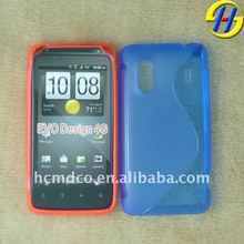 TPU dust-proof for mobile phone HTC EVO Design 4G case
