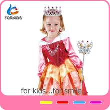 Kids cosplay costumes princess girl dress, fancy dress costumes for kids