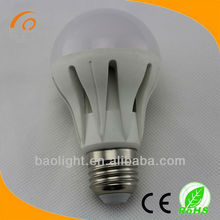 high brightness Warm White light bulb 12v t10 w5w 5050 5 smd led