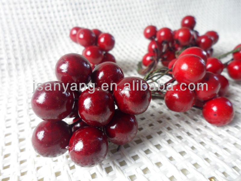 Asimulation Artificial Red Circle berries