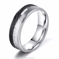 Ally Express Cheap Wholesale Ring Men Stainless Steel Silver Ring Simple Plain Druzy Ring for Men Silver