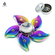 High Quality High Speed Cool Many Kinds Rainbow Metal Spinner