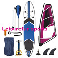 wholesale watersports inflatble windsurfing boards with stand up paddle