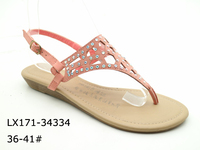 african leather beaded aerosoft wedge 2016 summer sandals