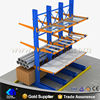 Flexible pipe rack system,Steel racking machine warehouse cantilever rack