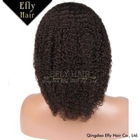 Wholesale 100% brazilain human hair wig cheap factory price make afro wig