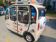 cheap 3 wheel car closed comfortable passengers electric tricycle DM5