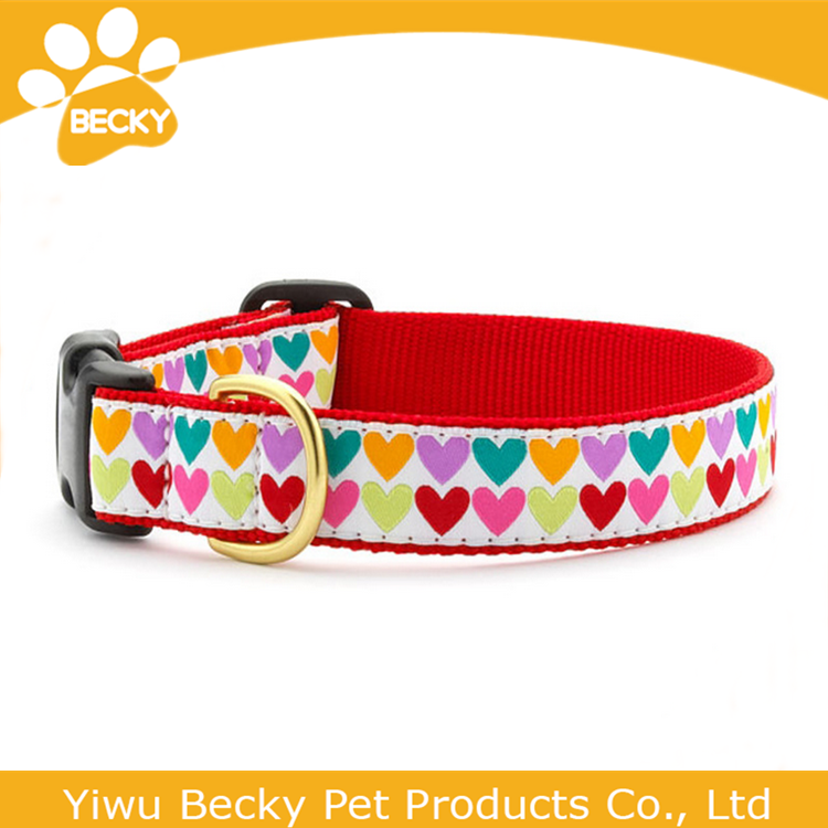 Wholesale Nylon Dog Collar Product Pet Collar Making Supplies