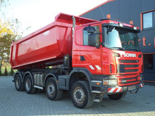 SCANIA G400 8x6 EURO5 TIPPER 2011 GERMAN TRUCK