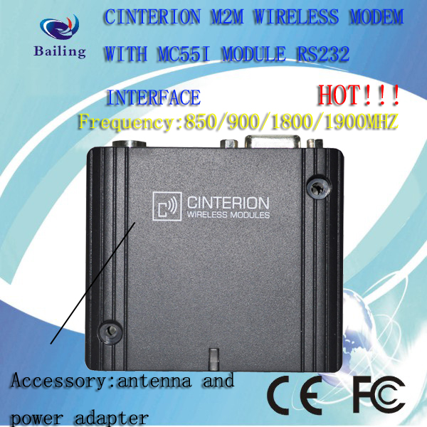 Factory price MC55I SMS Gateway metering vending POS usage RS232 rs232 serial gsm/gprs modem