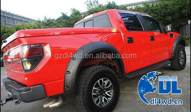 NEW style 4wd wheel arch fender flares for Ford Raptor F150