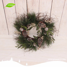 GNW CHWR-1605025 Latest new product artificial cheap green Christmas wreath