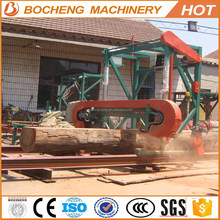 2017 hot sale portable bandsaw mill with diesel engine and electric power