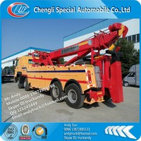 HOWO 8x4 30 ton rotator recovery truck manufacturer