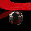 K9 blank hemisphere crystal paperweight souvenir for home