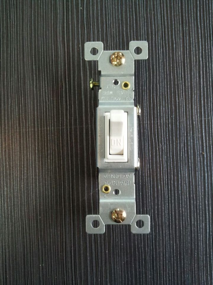 UL Approved Electric Toggle Light Switch Types Of Electrical Switches Uses Of Wall Mount Electrical Switch Ivory And Black Color
