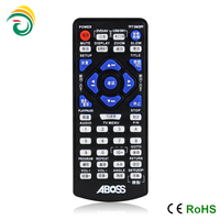 one for all remote control codes with rubber button