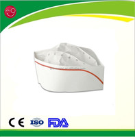 Disposable paper shef hat/ Forage hat