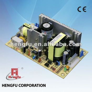 65W Single/Dual/ Triple Output Open Frame Power Supply
