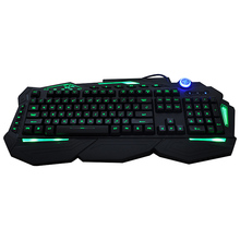 Professional Macro Programming Gaming Keyboard with 5 Macro Keys
