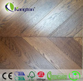 Parquet oak wood flooring with popular color anti-UV sound proof