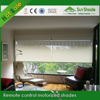 Diy Remote Control Motorized Shades For Home Window Buy