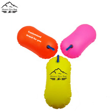 Safer Inflatable Open Water Swim Buoys and Tows Shark Safeti Buoy For Sale