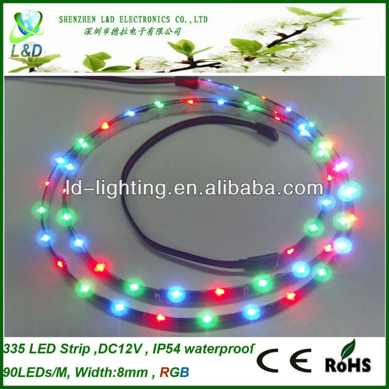 DC12V 90LEDs/M, common cathode rgb led strip