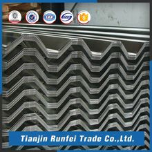 China hot sale building material az150 galvanized corrugated roofing sheet