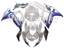 White Blue ABS Fairings Kit GSX R600/750 2006-2007 K6 For Suzuki Injection ABS Fairings