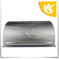 Stainless Steel Bread Bin Tea Coffee Sugar Set