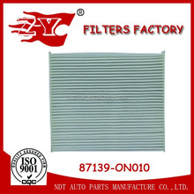 cabin air filter used FOR toyota camry OEM NO. 87139-0N010