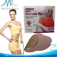 2016 slimming patch korea belly fat burning wonder patch