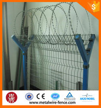 3m Height Welded Airport Fence with Razor Barbed Wire