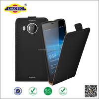 For NOKIA Lumia 950 PU Leather Magnetic flip case skin cover