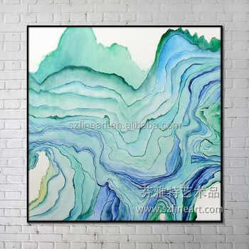 2016 summer hot item new design abstract oil painting