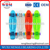 High Performance Transparent Plastic Longboard With Mini Cruisers Skateboard